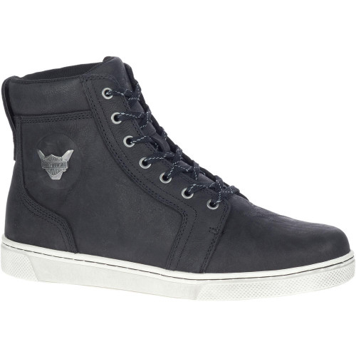 "Harley Davidson Mens Footwear Bateman 5"" Metal D93724 Black"