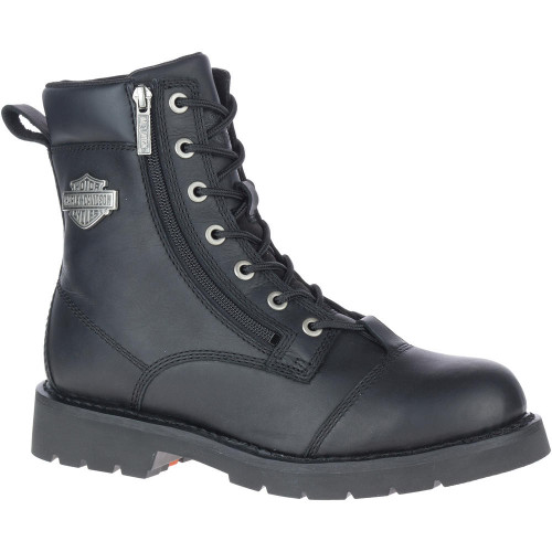 "Harley Davidson Mens Footwear Landry 6"" Lace D93706 Black"