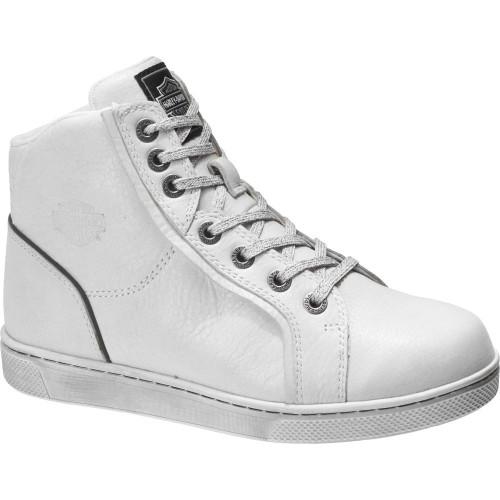 Harley Davidson Ladies Footwear Bateman D84635 White
