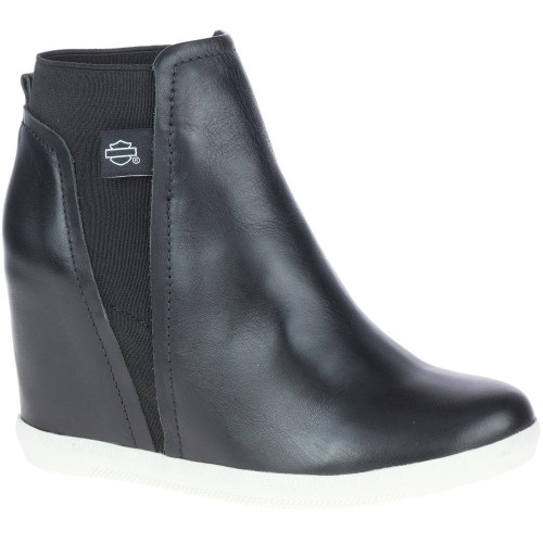 Harley Davidson Ladies Footwear Parkdale Slip On D84677 Black