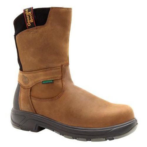 Georgia Mens FLXpoint Waterproof Composite Toe Work Boots G5644 BROWN