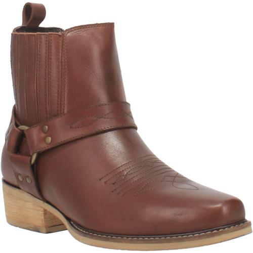 """Dingo Boots Mens DI 282 6"""" #BLACK BART Brown"""