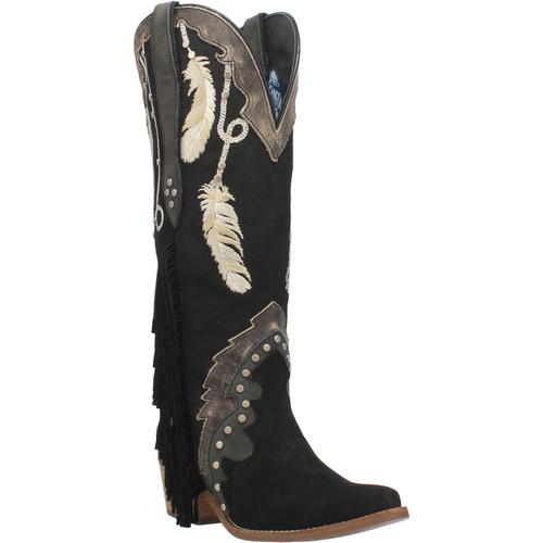"""Dingo Boots Ladies DI 267 15"""" #DREAM CATCHER Black"""