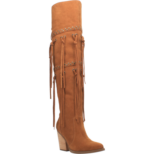 """Dingo Boots Ladies DI 268 22"""" #WITCHY WOMAN Whiskey"""