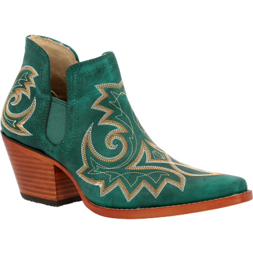 Crush by Durango® Women's Turquoise Western Fashion Bootie DRD0400 TURQUOISE