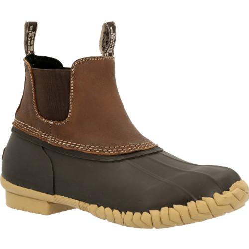 Georgia Boot Marshland Unisex Chelsea Duck Boot GB00433 BROWN