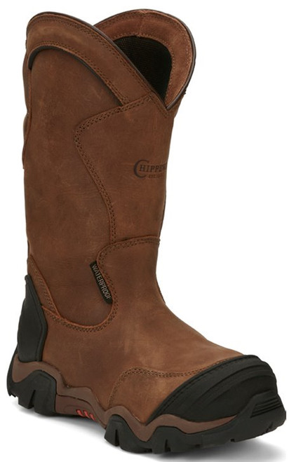 "Chippewa Ladies Boots L50023 12"" CROSS TERRAIN BROWN W/P NANO C/T"