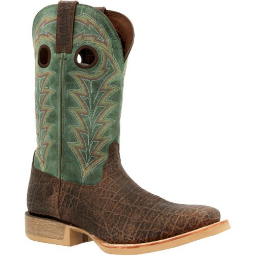Durango® Rebel ProSafari Elephant Print Boot DDB0335 SAFARI ELEPHANT TIDAL TEAL