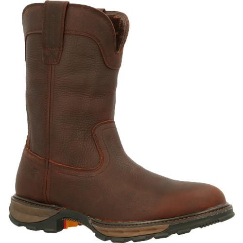 Durango® Maverick XP Waterproof Western Work Boot DDB0332 SOGGY BROWN