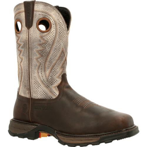 Durango® Maverick XPComposite Toe Met-Guard Ventilated Western Work Boot DDB0331 DARK BROWN AND FOG