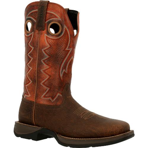 Rebel by Durango® Brown Ventilated Western Boot DDB0327 CIMARRON BROWN
