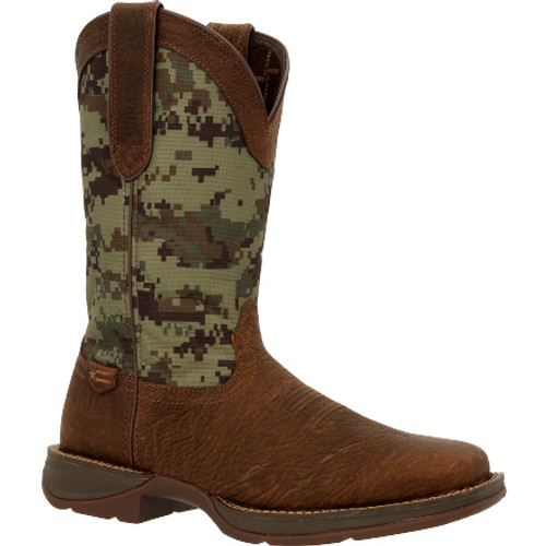 Rebel by Durango® Green Digi Camo Western Boot DDB0329 DARK BROWN GREEN DIGI CAMO