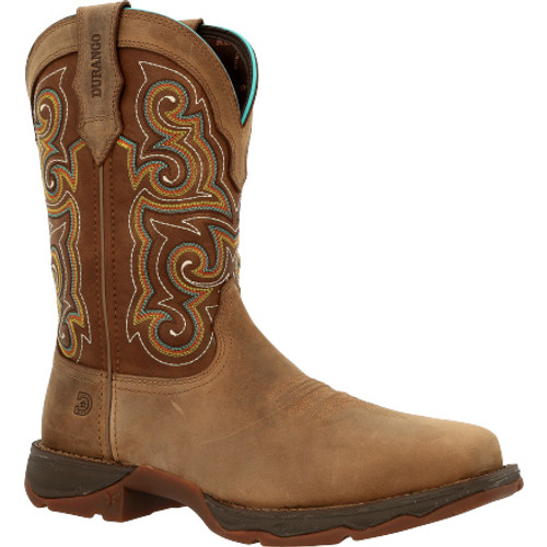 Lady Rebel Work by Durango® Composite Toe Western Work Boot DRD0410 DUSTY BROWN