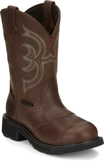 Justin Ladies Boots GY9985 Wanette Steel Toe