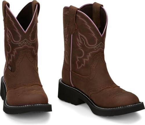 "Justin Ladies Boots GY9903 8"" Gemma"