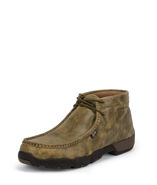 Justin Mens Boots 237 Cappie Steel Toe