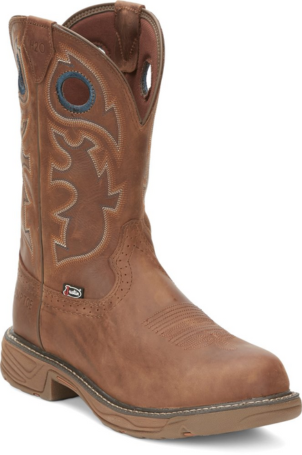 Justin Mens Boots SE4334 Rush BROWN COWHIDE