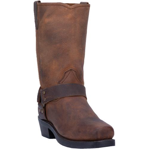 "Dingo Boots Mens DI19076 11"" DEAN DARK BROWN"