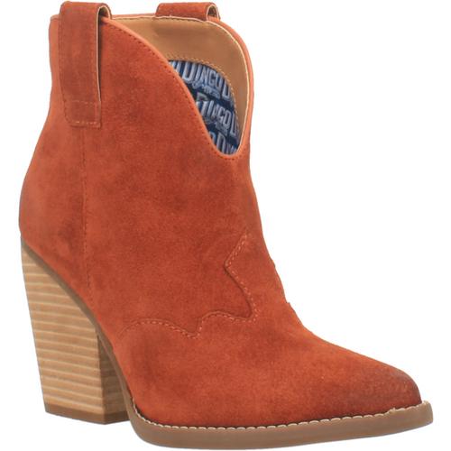 """Dingo Boots Ladies DI 342 6"""" #FLANNIE Rust"""