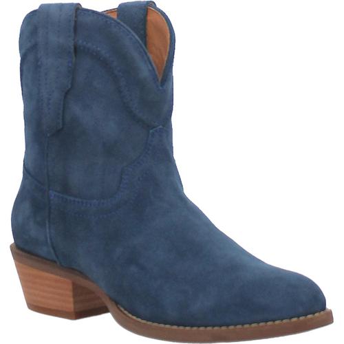 """Dingo Boots Ladies DI 561 7"""" #TUMBLEWEED Navy"""
