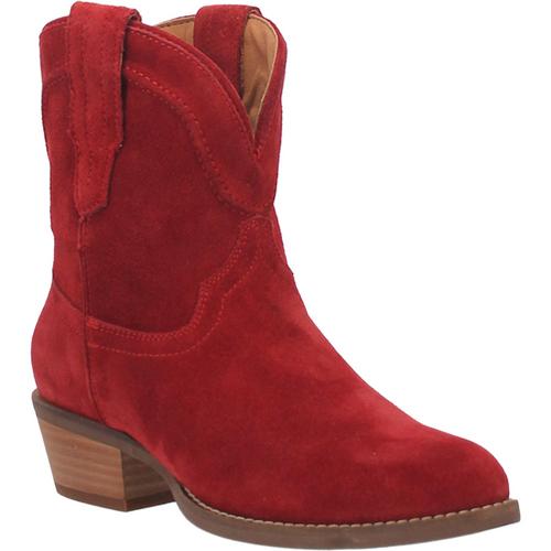 "Dingo Boots Ladies DI 561 7"" #TUMBLEWEED Red"