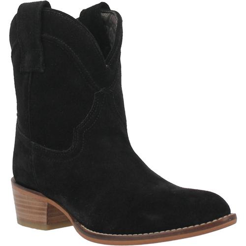"Dingo Boots Ladies DI 561 7"" #TUMBLEWEED Black"