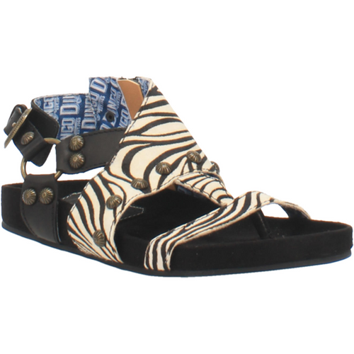 Dingo Sandals Ladies DI 143 CLOG SAGE BRUSH Black Zebra