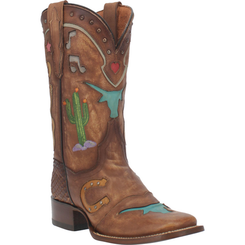 """Dan Post Boots Ladies DP4646 11"""" WESTERN DREAM"""