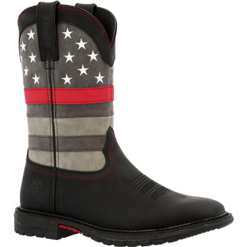 Rocky Red Line Women's Western Boot RKD0089 BLACK