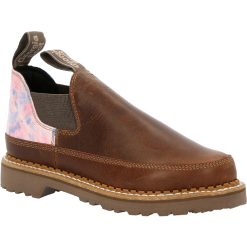 Georgia Boot Women's Brown and Cotton Candy Romeo Shoe GB00461 BROWN