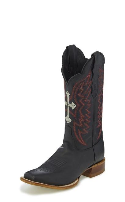 Justin Ladies Boots RML303 Silky Black
