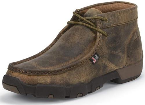 Justin Mens Boots 232 Cappie Dark Brown