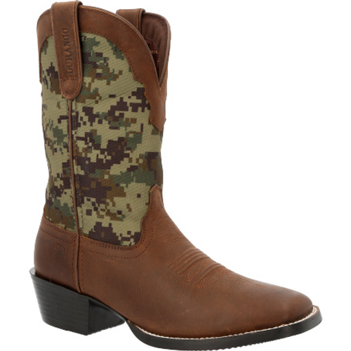 Durango Mens® Westward Green Digi Camo Western Boot DDB0353 BROWN GREEN DIGI CAMO