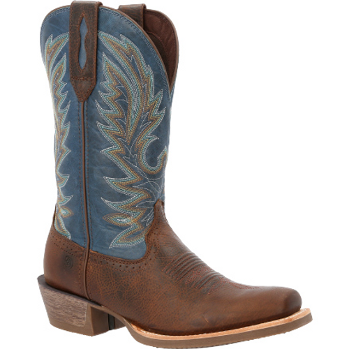 Durango Mens® Rebel Pro Hickory & Denim Western Boot DDB0356 BROWN AND BLUE