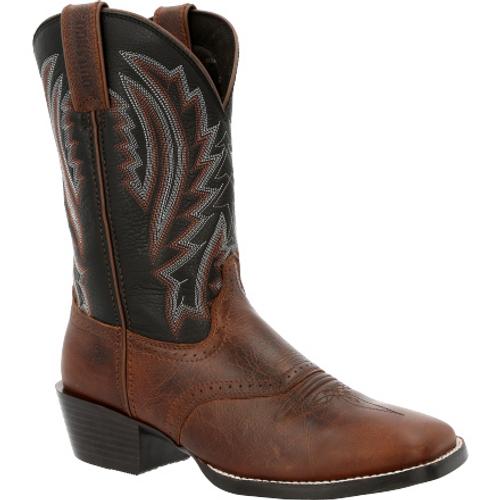 Durango Mens® Westward Dark Chestnut & Black Onyx Western Boot DDB0351 DARK CHESTNUT BLACK ONYX