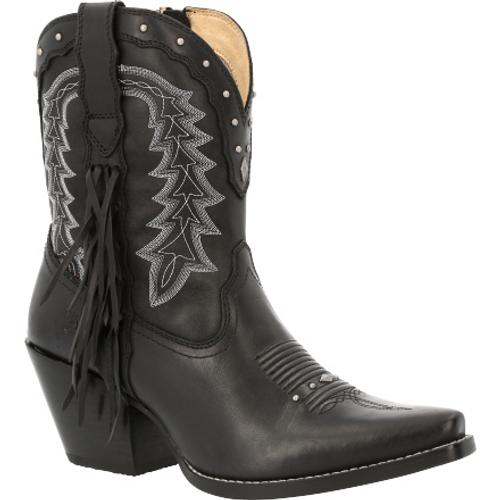 Crush by Durango® Women's Black Onyx Bootie Western Boot DRD0432 BLACK ONYX