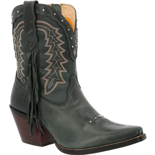 Crush by Durango® Women's Vintage Teal Bootie Western Boot DRD0431 VINTAGE TEAL