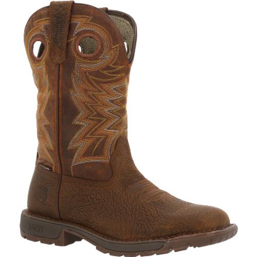 Rocky Mens Legacy 32 Waterproof Western Boot RKW0355 BROWN