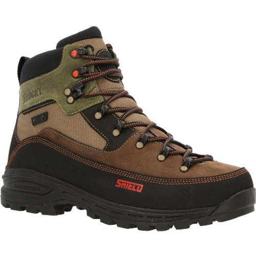 Rocky Mens MTN Stalker Pro Waterproof Mountain Boot RKS0526 BROWN GREEN