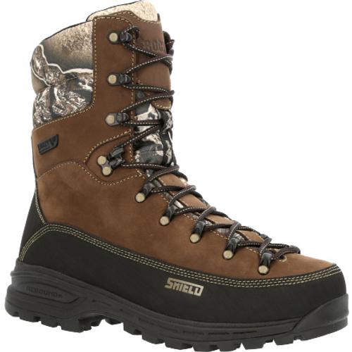Rocky Mens MTN Stalker Pro Waterproof 800G Insulated Mountain Boot RKS0530 BROWN BLACK