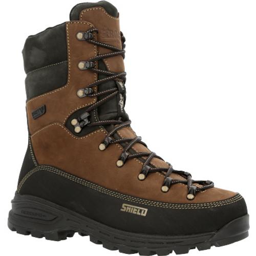Rocky Mens MTN Stalker Pro Waterproof 400G Insulated Mountain Boot RKS0529 BROWN BLACK