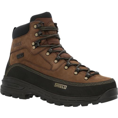 Rocky Mens MTN Stalker Pro Waterproof Mountain Boot RKS0527 BROWN BLACK
