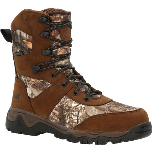 Rocky Mens Red Mountain Waterproof 800g Insulated Outdoor Boot RKS0547 REALTREE EDGE