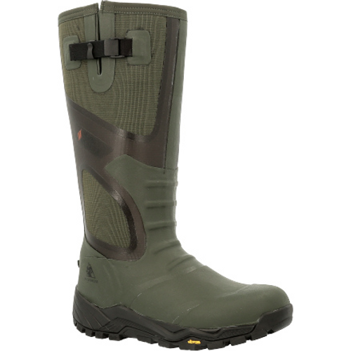 Rocky Mens XRB 1000G Insulated Waterproof Outdoor Rubber Boot RKS0539 FOREST NIGHT