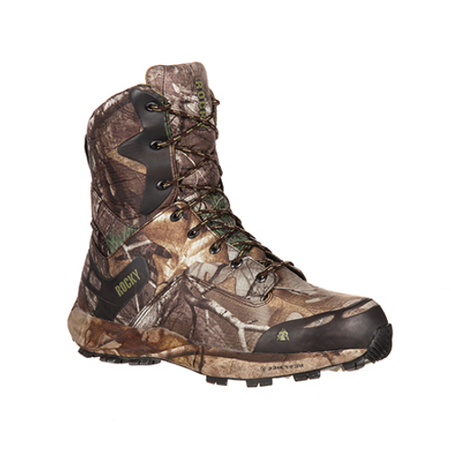 Rocky Mens Broadhead Waterproof 800G Insulated Outdoor Boot RKS0184 REALTREE XTRA