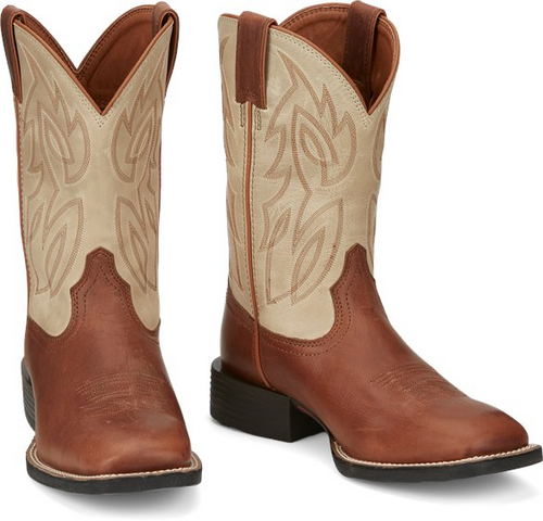 Justin Mens Boots SE7511 Canter Whiskey