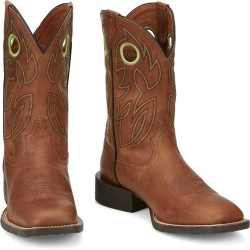 Justin Mens Boots SE7521 Bowline Hazel Brown
