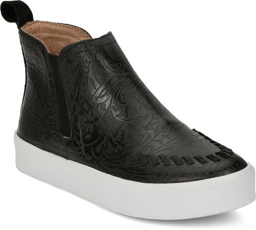 Justin Ladies Boots RM075 Broadway Floral Black