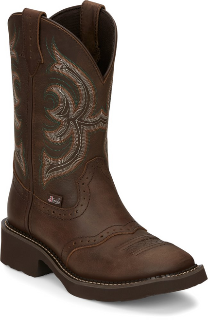 Justin Ladies Boots GY9984 Inji Brown