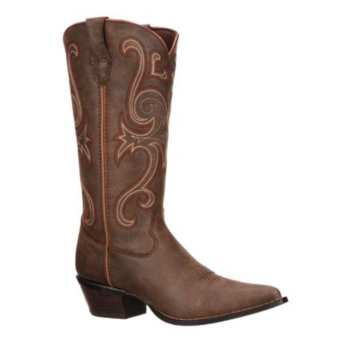 Crush by Durango Women's Brown Jealousy Western 3593 BOMBER BROWN